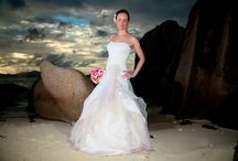 Weddings in Seychelles / Discover the amazing Seychelles through our wedding photos. Stunning beach, joyful atmosphere, beautiful brides... everything are gathered for a memorable moment.   # Wedding #Seychelles