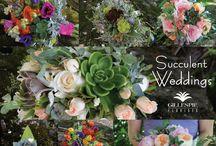 Wedding Bouquet Collages