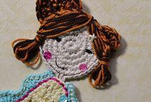 Crochet applique pattern