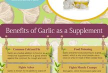Garlic- The Wonder Herb / Everything you ever wanted to know about the health benefits of garlic and how to best make use of garlic oil supplements.