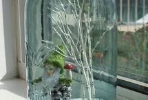 Befőttesüveg dekor