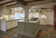 Tillingham | Rural Farmhouse Kitchen / With the backdrop of a beautiful farmhouse nestled in the Essex countryside and a brief to create a welcoming and warm family kitchen, our Tillingham kitchen style in a palette of soft tones was the obvious choice.