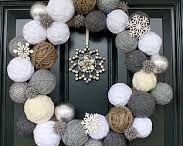 Karácsonyi dekor házilag