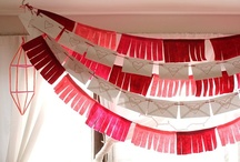 Bunting + Garland / Ideas help to spice up your room at any party, wedding or shower.