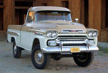 Pickups and trucks / by Marvin Entzel
