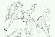 animals sketch