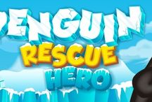 Penguin Rescue Hero! / Help Pingu rescue as many penguins as you can!