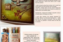 Creative Inspirations / This board is sharing creations by the design team for Personal Impressions