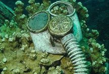 Strange things underwater