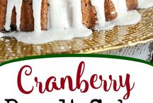 Cranberry Cake Recipes