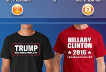 Presidential Election Sale / ShaziShop offers Presidential Election Sale, you can get up to 40% discount on selected items. You can support your candidate Donald Trump or Hillary Clinton buy wearing their name shirts, stickers, banners, posters and much more items. Find new and trendy election sale products at our store and also get your order shipped free in USA. So order now and start promoting your favorite candidate, whos gonna be your next Mr. or Mr. President.