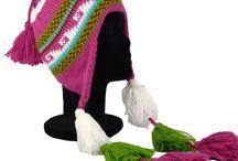 Bonnet péruvien femme / Chez Pérou Shop vous trouverez une variété de bonnets péruviens pour femmes en laine d'alpaga.