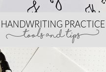 Handwriting & Lettering