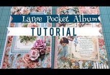 Large pocket album