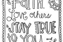 Zentangle bible verses❣