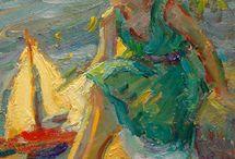 Diane Leonard(Amrican Impressionist) / Contemporaly Impressionist