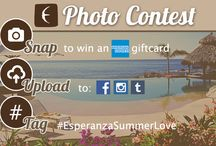 #EsperanzaSummerLove  / Have a great photo from your stay at #EsperanzaResort? Enter our photo contest on Facebook, Instagram, or Twitter for a chance to win an American Express gift card!  1. Take a picture of your stay at Esperanza Resort 2. Upload your photo to Facebook, Instagram, or Twitter 3. Use the hashtag #EsperanzaSummerLove  Contest ends August 16th! / by Esperanza Resort