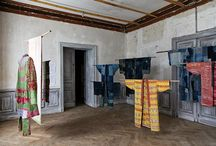 "EXHIBITION at BORO, BOISBUCHET FRANCE / Exhibition with ""Out of the Ordinary"" textiles at Domaine de Boisbuchet, France, in the exhibition ""Boro – The Fabric of Life"".   Curators:Mathias Schwartz-Clauss and Stephen Szczepanek