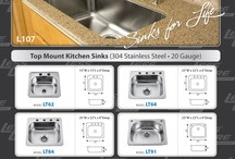 Stainless Steel,Ceramic Kitchen and Bathroom Sinks