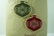 Northern Flurry TIEF Stampin' Up! Greeting Cards