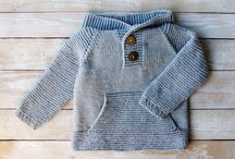Crochet/knitted baby cardigan