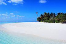 Les plus belles plages / Beach travel destinations, inspirations