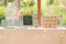 Guest Book/Wishing Station