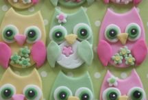 Muffins pynt / cupcake toppers