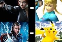 Superheroes & Villanos
