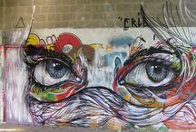 Straßen+Wandmalerei/Illusionsmalerei