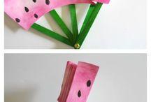 Pyssel med glasspinnar