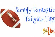 Simple Tailgating Tips / A collection of recipes and tips to make tailgating easy!