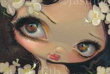 Jasmine Becket-Griffith Art.
