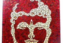 mozaiek buddha