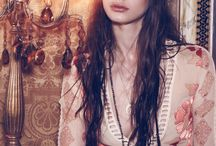 Gypsy Dreamer / For Love & Lemons introduces GYPSY DREAMER - FALL 2015 collection. This seasons extraordinary hand drawn artwork was drafted in-house and printed on the lightest of silks, and sets the foundation for rich textures, hand beading details and intricate engineered embroideries. Inspired by vintage treasures and travels to exotic and far away places, this collection showcases some of the best FL&L pieces yet.