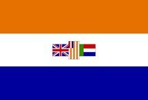 """SUID-AFRIKA.""""O land van ons vaders, so ruim en so vry... / """"Suidland, my land, ons Vaderland, ons hart en ons hand jou liefde ten pand, tot sterwens toe, ons Vaderland"""""""