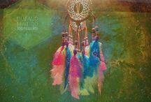 Atrapasueños - Dreamcatchers / Atrapasueños Búfalo Místico,  Tejiendo intenciones desde el corazón. pedidos a www.facebook.com/BufaloMisticoMx
