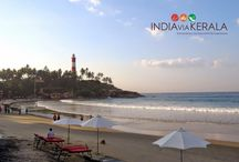 A day at Kovalam Beach / ‪#Kovalam‬ - Once a calm fishing village clustered around its crescent beaches, is now an internationally renowned beach destination. A massive rocky promontory on the beach has created a beautiful bay of calm waters ideal for swimming...