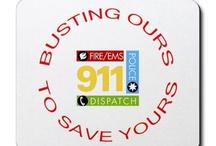 911 Dispatcher / by Becky Foster-Justus