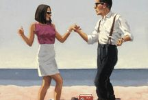 JACK VETTRIANO / one of the contemporarirly painters I love