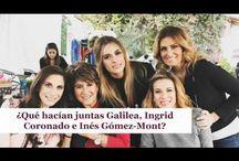 ¿Qué hacían juntas Galilea, Ingrid Coronado e Inés Gómez-Mont?