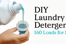 DIY Projects for personal care products / DIY projects for soap, shampoo, laundry detergent and other household items.