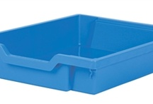 Shallow tray colours / All the colours available for Gratnells shallow school trays