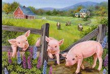 Schilderijen met dieren