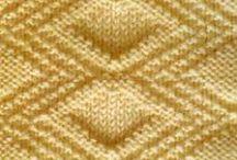 vzorky na pletenie