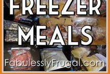 Freezer Meals / Make ahead meals for busy times / by Elaine Rosengarten