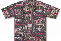 Aloha Christmas 2015 / Collections from our top designers, these annual holiday shirts are some of our most collected items. Around the house, office or at a party, put some Ho Ho Ho in your Hawaiian Aloha huladays.   / by 🌺 🌺Aloha Shirt Shop🌺 🌺