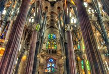 Marvels of Gaudi in Barcelona / Masterpieces of Modernism in Barcelona by Antoni Gaudi. Worth of visiting.