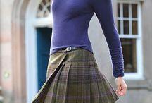 tweed kilt