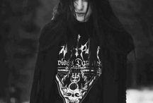 ghotic & black